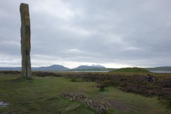 Beside The Ring of Brodgar