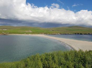 Approaching St. Ninian's Isle